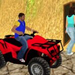 Traffic Racer Quad Bike Game